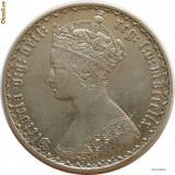 Anglia - Florin gothic Victoria 1859 - Superb - R!, Europa, An: 1859