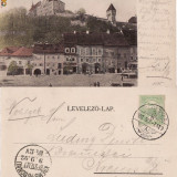 Carti Postale Romania pana la 1904 - Salutari din Sighisoara-1902