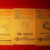 Carte de aventura - 3 Brosuri din Colectia - CUNOSTINTE FOLOSITOARE 1940-42