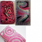 Blackberry 8520 Curve Husa BLING Diamond Glamour Back Cover