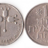 ISRAEL 1 LIRAH 1973