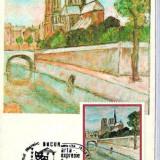 Ilustrata Maxima Pictura  - Th. Pallady - Pe malul Senei