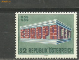 Austria 1969 - EUROPA CEPT , timbru nestampilat B254