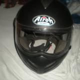 Casca airoh warrior rs protectie moto ochelari de soare - Casca moto