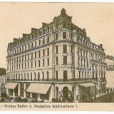 1798 - BUCURESTI - Cafeneaua regala, animata - old postcard - unused