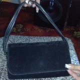 Poseta geanta dama eleganta din catifea neagra - pret mic si livrare gratuita, Geanta plic, Fuchsia