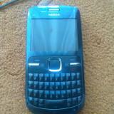 NOKIA C3 IMPECABIL, AN FABRICATIE 2011 - Telefon mobil Nokia C3, Albastru, Neblocat