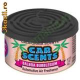 Odorizant Auto - California Car Scents- BALBOUA BUBBLE GUM (asemanator cu guma orbit USA)