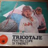 Carte tehnica - TRICOTAJE PENTRU COPII SI TINERET - Georgeta Stoean