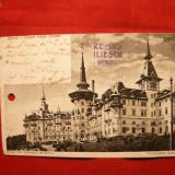Carte Postala circ. cu Spic de Grau 2x3 Bani 1908 - Carte Postala Romania 1904-1918