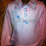 Bluza/haine fete/copii, NOUA, 6-8 ani, roz, subtire-10 ron