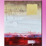 Reproducere - Pictura abstracta (25) - ulei pe panza, 60x50cm