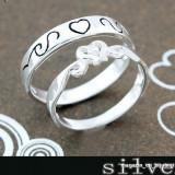 Inel argint - INELE ARGINT LOVE COUPLE (I004)