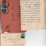 PLIC 2TIMBRATE 1 PT.DR E.BURGER TIMISOARA 1941, SI BARABAS ELZA TIMISOARA 1936-OCPP 135 - Plic Papetarie
