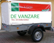 Vand remorca auto noua 750 kg cu prelata adusa din Germania foto