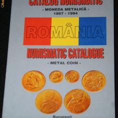 CATALOG NUMISMATIC - MONEDA METALICA 1867-1994