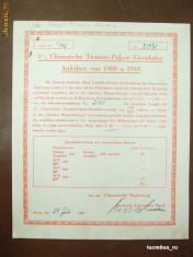 """2 Cupoane """"Deutch-Asiatische-Bank"""", 1938"""
