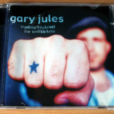Gary Jules - Trading Snakeoil For Wolftickets - Muzica Folk universal records