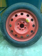 Roata de rezerva Auto - ROATA REZERVA NOUA, MICHELIN MODEL T 125/80/R 15