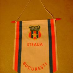 Fanion fotbal - Fanion echipa de fotbal Steaua Bucuresti anii 1980