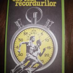 Carte despre Sport - Cartea recordurilor, de C Topescu si Virgil Ludu