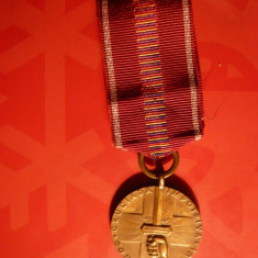 Medalii Romania - Medalie- Cruciada Impotriva Comunismului 1941, pangl.noua
