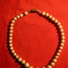 Sirag imitatie perle, L= 30, 5 cm