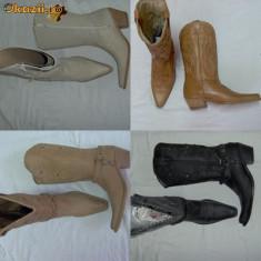 Cizme dama - Ciocate, cizme, botine, Wrangler pt femei, dama piele 100%, NOI
