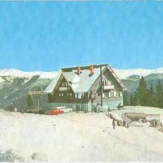 CP184-77 Sinaia -Cota 1300 -Cabana Bradet -circulata 1976 - Carte Postala Muntenia dupa 1918
