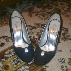 Pantofi dama, Marime: 36.5, Fuchsia - Pantofi de dama superbi, foarte comozi, toc subtire
