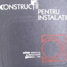 Carti Constructii - MATERIALE DE CONSTRUCTII PENTRU INSTALATII