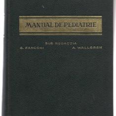 *2B(41) G.Fanconi-MANUAL DE PEDIATRIE - Carte Pediatrie