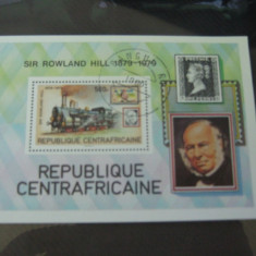Colita timbre trenuri 1980 - Timbre straine