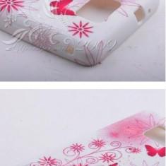 Husa flower power SAMSUNG GALAXY S2 i9100 + Folie protectie ecran + expediere gratuita - Husa Telefon