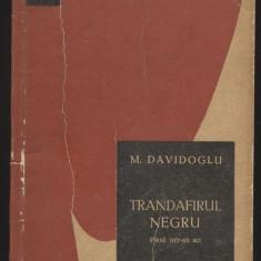 Mihail Davidoglu_TRANDAFIR NEGRU - Carte de aventura