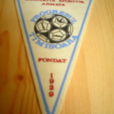 Fanion as progresul timisoara 1929 fotbal sport - Fanion fotbal