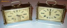 Ceas de mana - Ceas de masa SLAVA, vintage, quartz, plastic + metal - Pretul este pt setul de 2 bucati!!!