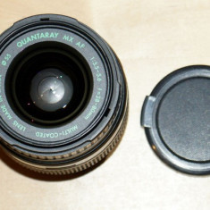 Obiectiv Quantaray (Sigma) mx af 28-80mm 1:3.5-5.6 55mm pentru Minolta/Sony Alpha DSLR - Obiectiv DSLR, Tele