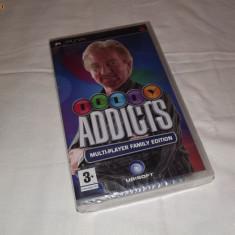 Joc Sony Playstation portable PSP - Telly Addicts Multiplayer family edition nou - Jocuri PSP Sony, Actiune, Toate varstele, Single player