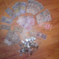 Vand bancnote si monezi vechi ramanesti si staine