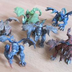 Lot dragoni mici (12 cm), Mega Bloks, 6 buc - Jocuri Seturi constructie