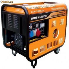 Puternic generator de curent  5,5 kW 380V