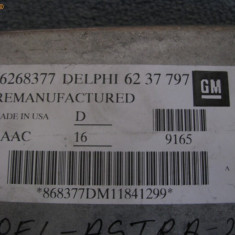 ECU auto - Calculator motor OPEL ASTRA motor 1.6/8V PART NUMBER: 16268377 6237797