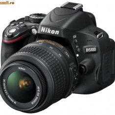 NIKON D5100 + OBIETIV AF-S VR DX 18-55 mm (nou sigilat) - Aparat Foto Nikon D5100