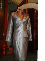 Costum dama - Costum gri dama marimea 36