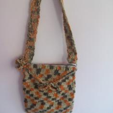 Geanta handmade - Geanta crosetata