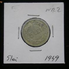 Monede Romania - CMR1 - 5 LEI 1949