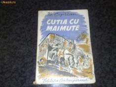 Carte veche - G. Ciprian - Cutia cu maimute - 1942