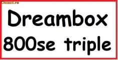 Receiver satelit - Dreambox 800 SE HD Sunray4 triple tuner DVB-S/DVB-T/DVB-C