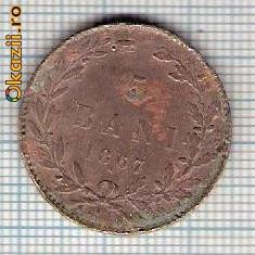 Monede Romania - 111 Moneda 5 BANI 1867 WATT & Co -starea care se vede -ceva mai buna decat scanarea